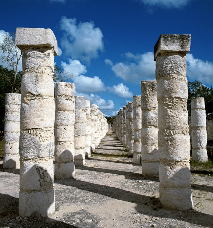 Chichen Itza Thousand Columns
