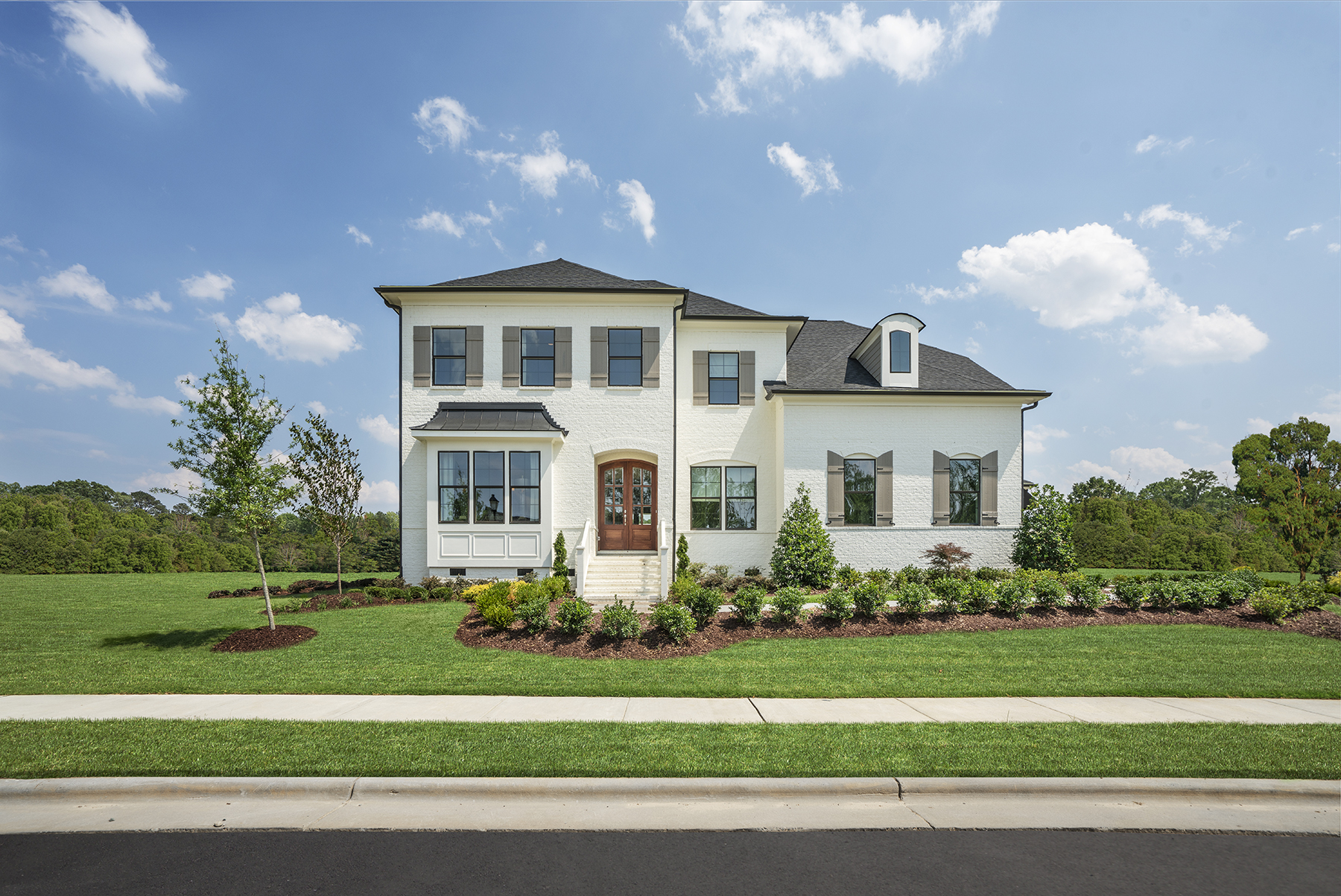 The Hanover Model At Lake Castleberry In Raleigh NC
