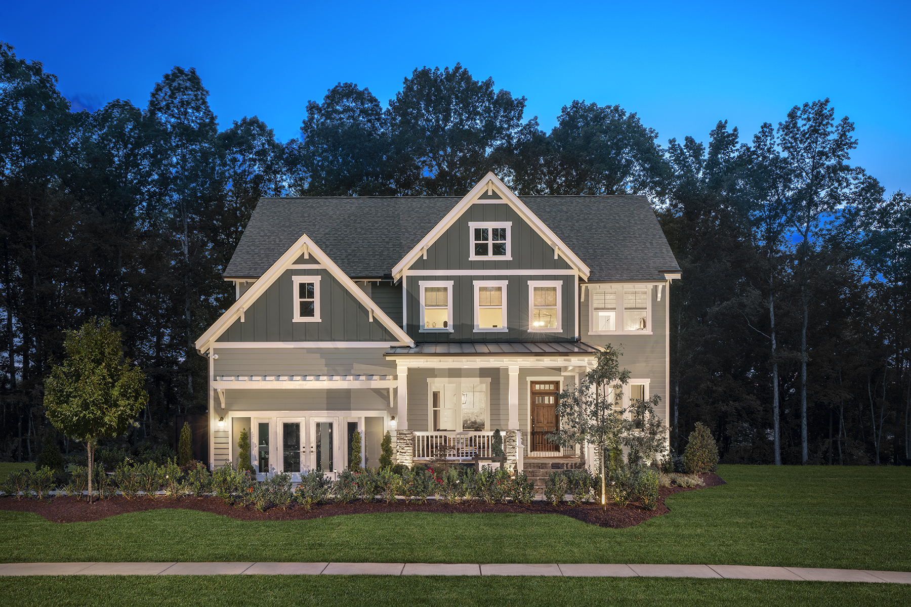 The Greenville Model At Buckhorn Preserve In Apex NC