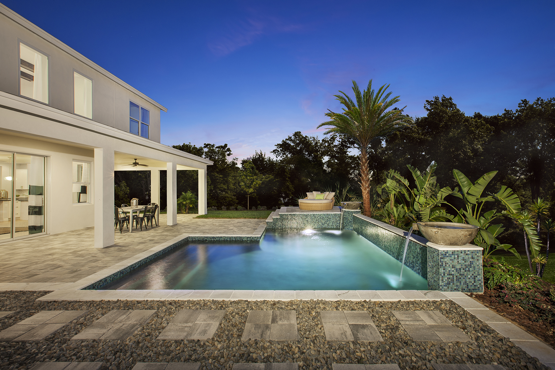 The Carlisle Model And Hickory Model Pool At Hamlin Reserve Winter Garden FL