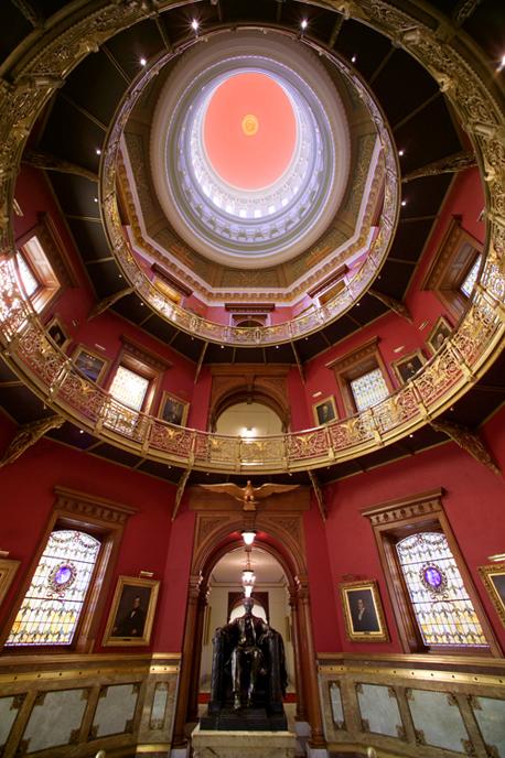 Lincoln Statue Dome Room