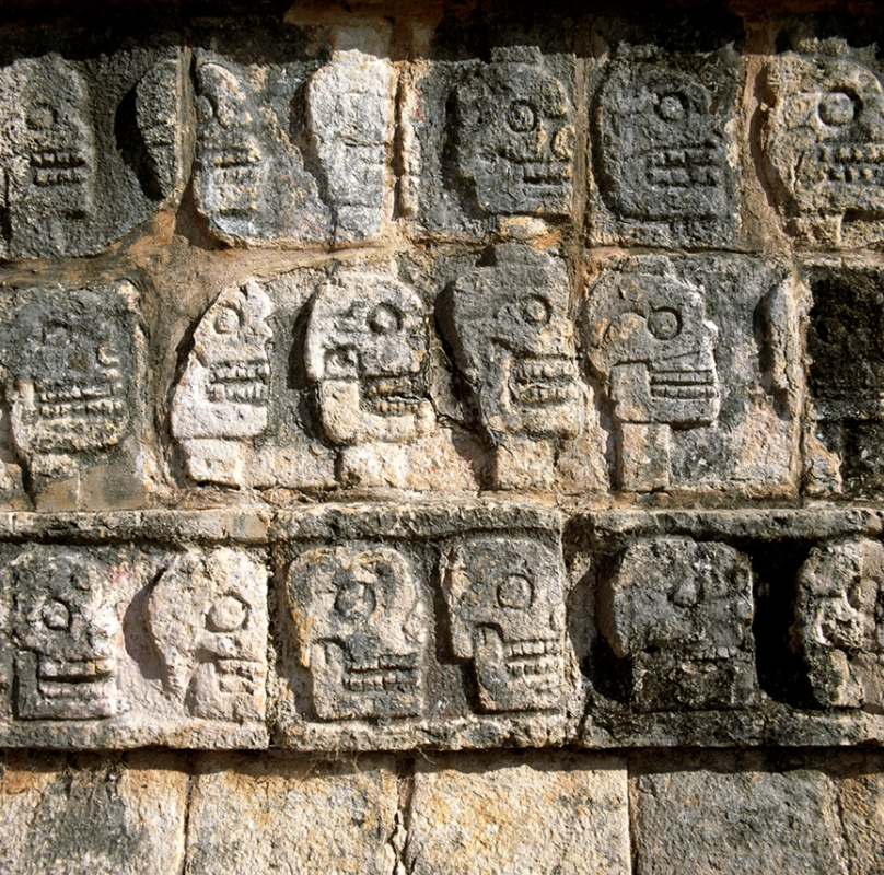 Chichen Itza Temple of Skulls