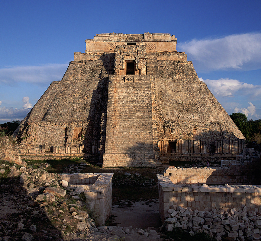 Chichen Itza Uxmal Temple Magic