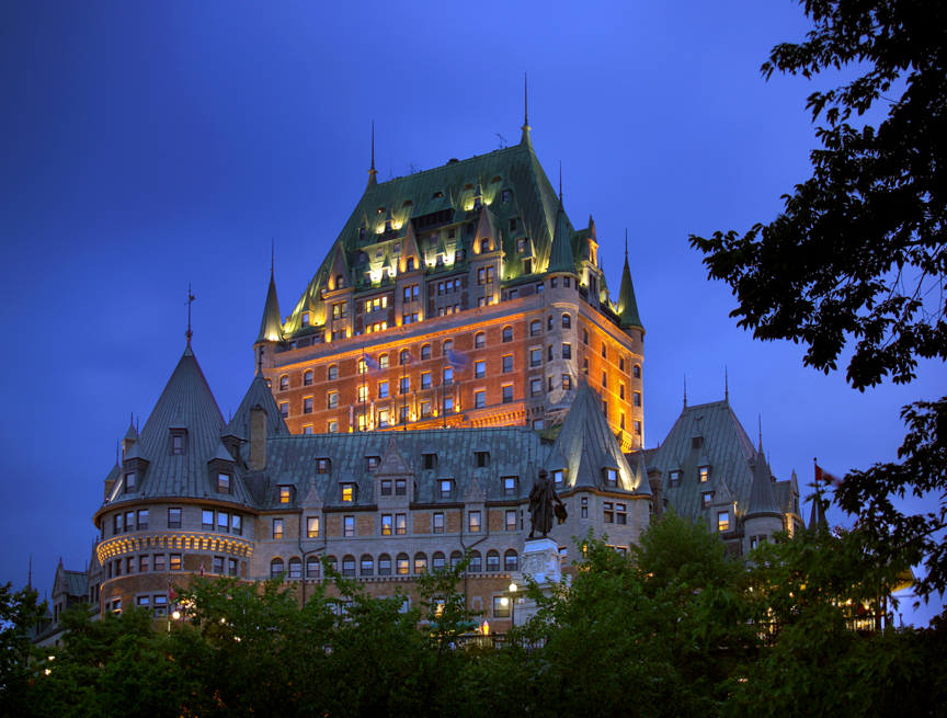 Frontenac Hotel Quebec City