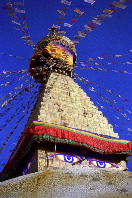 Buddhist Bodhnath Nepal
