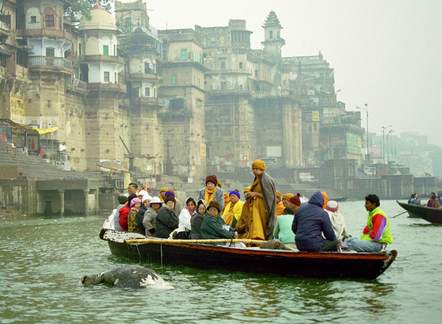 Burrial Ganges Varanasi