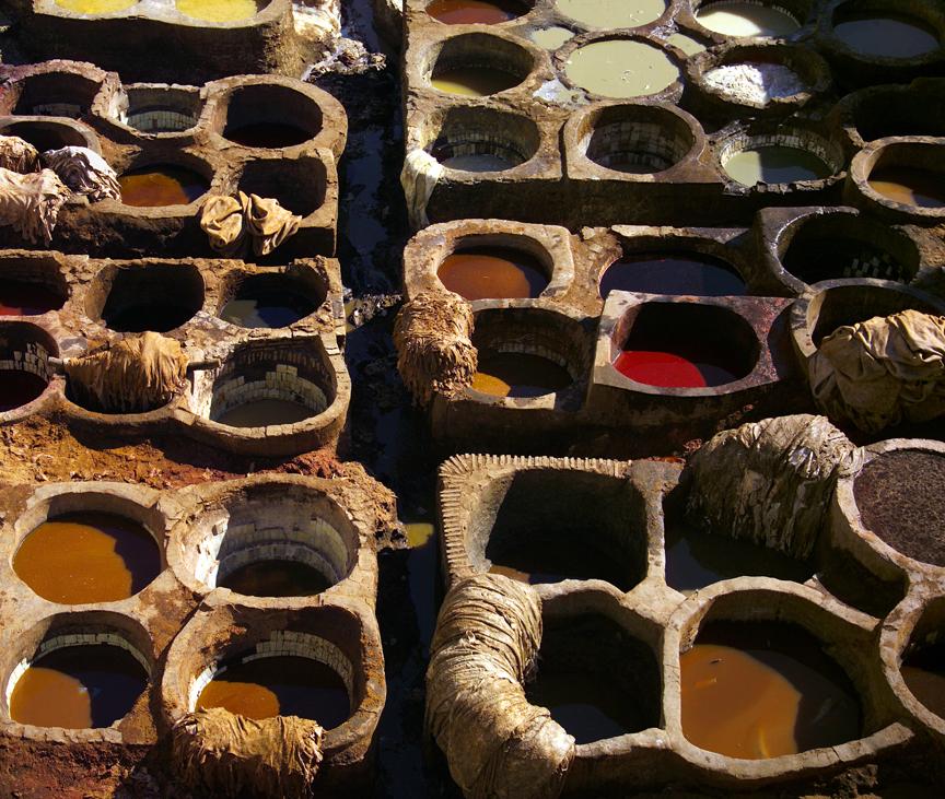 Morocco Pigment pots