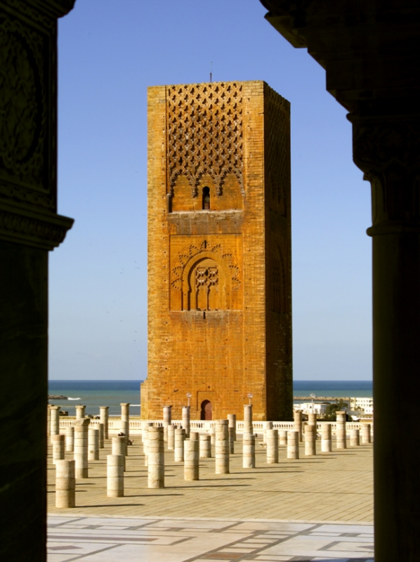 Morocco prayer tower