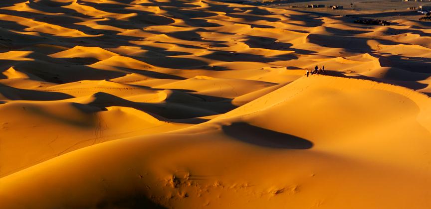 Morocco Sahara people