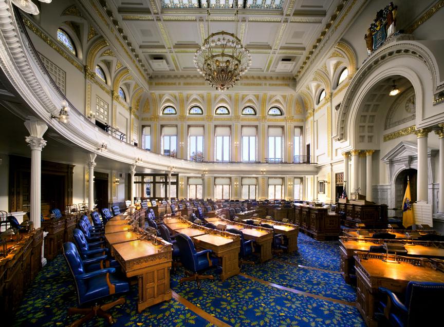 NJ Legislative Chambers