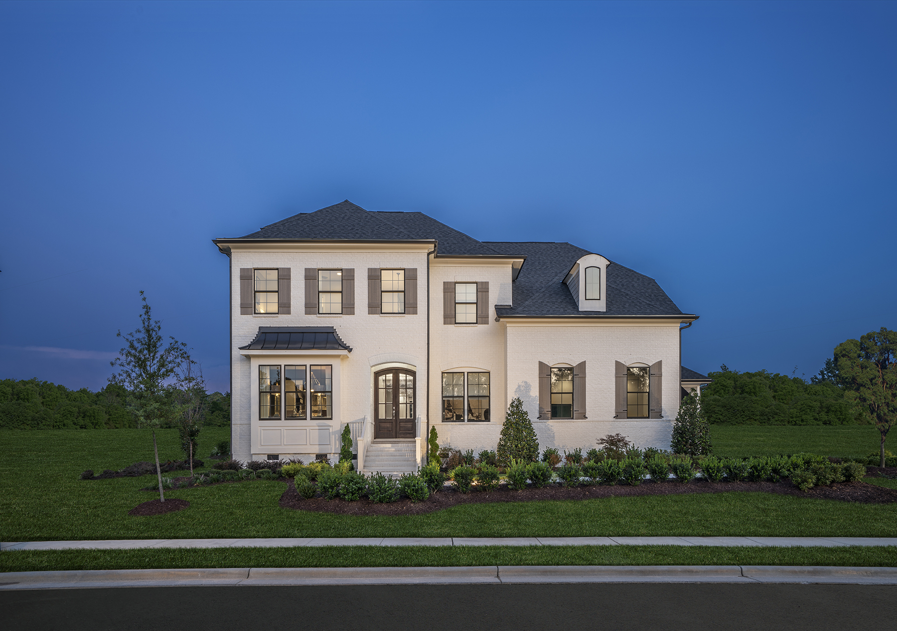 The Hanover Model At Lake Castleberry In Apex NC