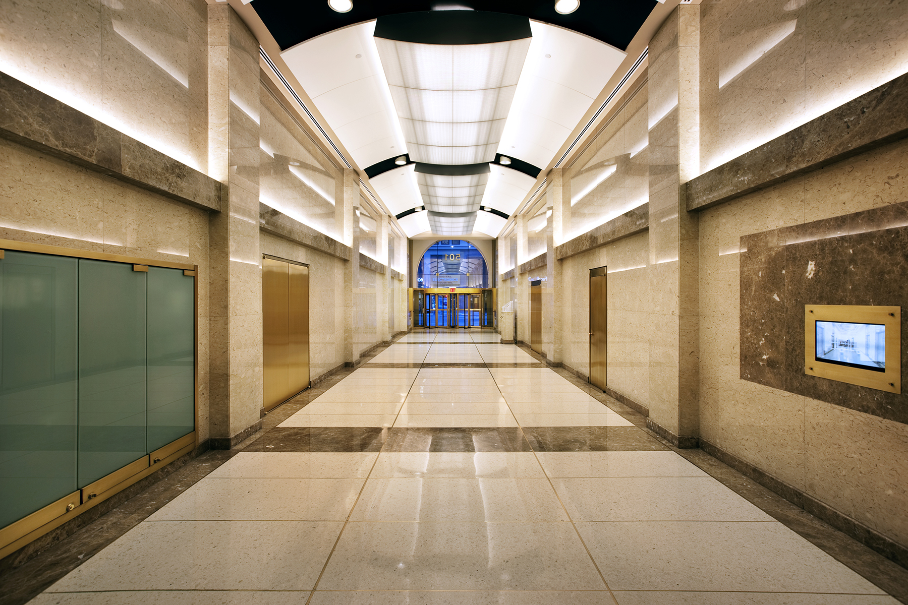 501 7th Lobby NYC