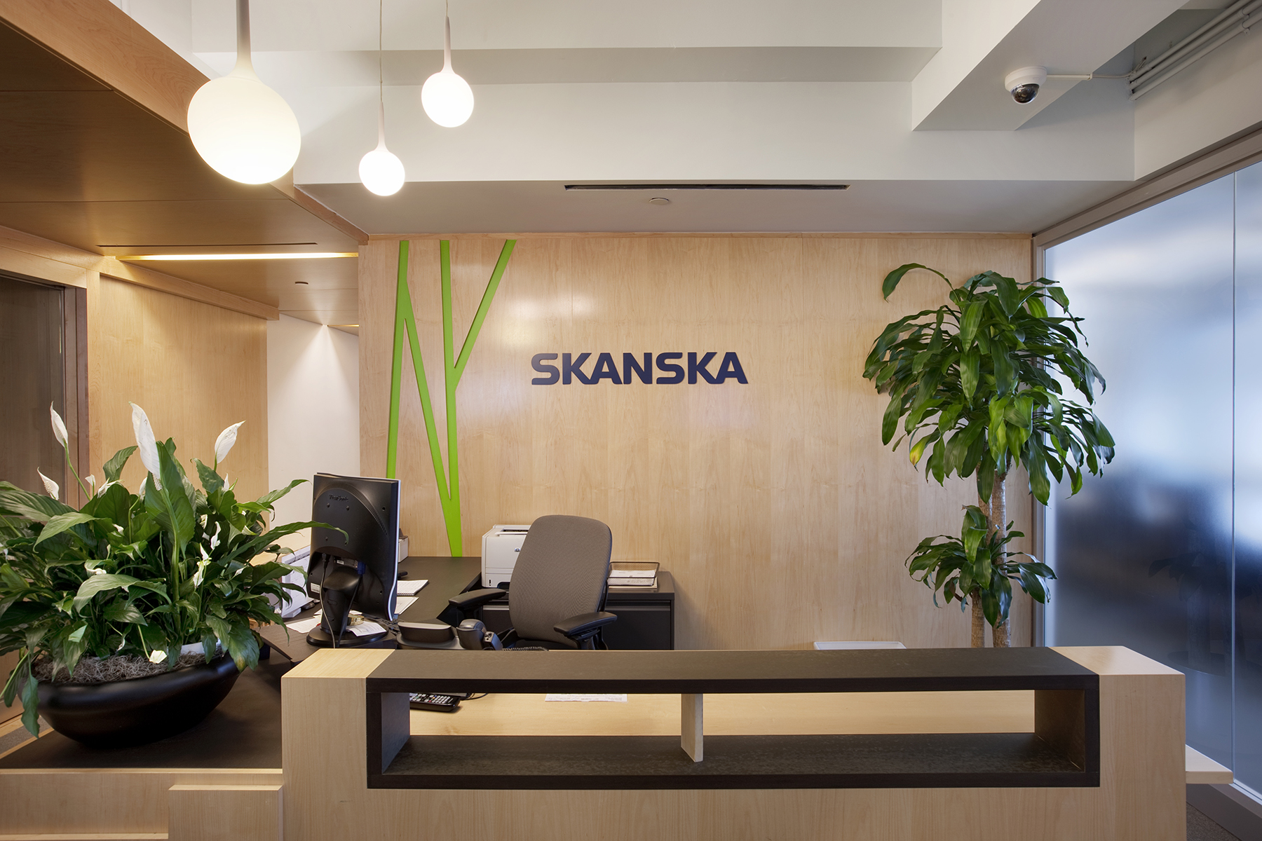 Skanska Lobby At ESB1